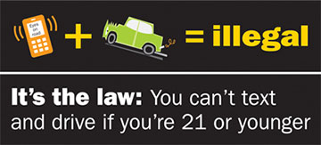 Texting While Driving >> MO Eyes on the Road   Missouri Department of Insurance, Financial Institutions & Professional ...